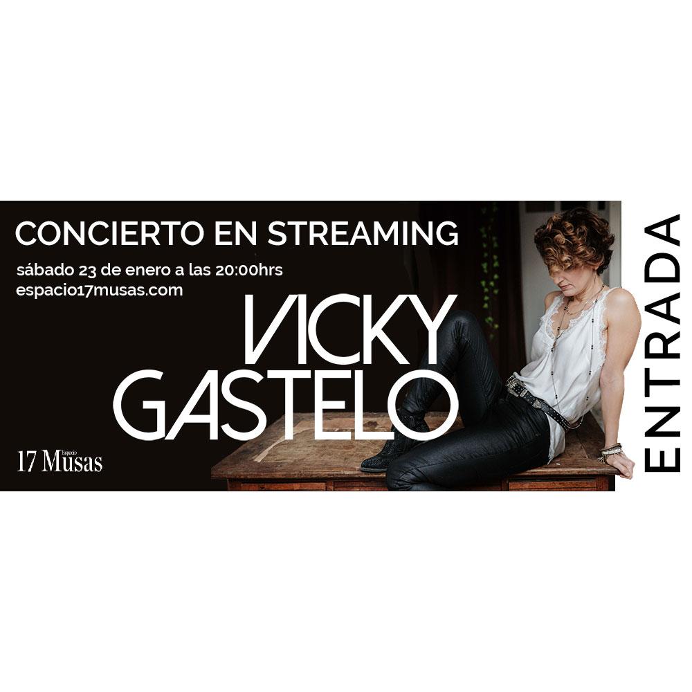 Entrada para Concierto Streaming Vicky Gastelo